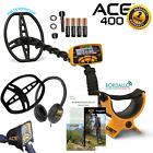 Garrett ACE 400 Metal Detector W/ Accessories!