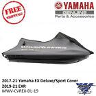 Yamaha OEM Black/Charcoal Waverunner Cover 2017-18 EX DLX/SPT MWV-CVREX-DL-17
