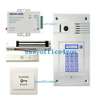 Wireless intercom system, IP, wifi global video door phone Kit Magnetic Lock+PSU