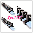 "1/2"" Drive Socket Rail Storage Holder Organizer Tray Mounting Hardened Plastic"