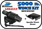 KFI 5000 lb. ASSAULT Winch Mount Kit '05-'10 Polaris Sportsman 400 450 500 X2