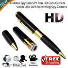 Camera Spy Pen Hidden HD Video Mini Recorder Cam  Camcorder USB Security 960p