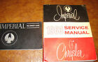 1963 Chrysler Service Shop Manual Le Baron Lebaron Custom Crown Imperial & Owner