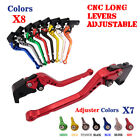 Long Brake Clutch Levers For Ducati 748 888 916 916SPS 900SS ST2 ST4 ST4S ABS