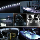 4X 7000K White LED Boat Bow Transom Deck Courtesy Pontoon Light Waterproof 12V