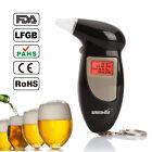 Backlit Display Digital LCD Alert Breath Alcohol Tester Prefessional Alcohol
