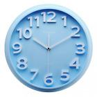 "Kids Wall Clock,13"" Silent Non-ticking Quartz Decorative Large Number Wall Clock"