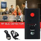 Anti-Spy Hidden Camera Laser RF Signal Bug Detector GSM Device Finder