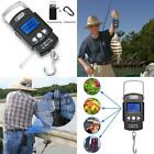 Digital Fishing Scale 110lb/50kg Weight LCD Screen Portable Hanging Hook Tape