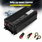 1500W Aluminum Alloy DC12V To AC110V Car Power Inverter Converter Transformer X5