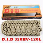 DID 520HV O-Ring Chain 120 Links for Small Dirt Bike Kids Motorcycle Gold 520