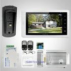 """HOMSECUR 7"""" Hands-free Video Door Entry Phone Call System+Metal Case Camera 1C1M"""