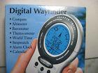 Sharper Image Wayfinder Altimeter Compass Clock ET002 # 9709