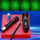 Tactical GD851 10 Miles 532nm Green Laser Pointer Pen Visible Beam +Star Cap+Box