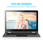 2-IN-1 Convertible Laptop PC Notebook Computer Long Life Fashion Pro Gifts