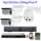 32Channel NVR 5MP 1920P PoE IP ONVIF Bullet 30 +2pc PTZ Security Camera X%%* 32