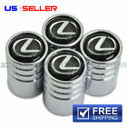 LEXUS  VALVE STEM CAPS WHEEL TIRE CHROME - US SELLER VE18