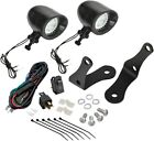 "Show Chrome 2 3/8"" Forged Bar Light Kit Black LED 30-109LBK"