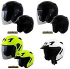 SCORPION EXO-CT220 Solid Color Open Face Helmet All Styles/Sizes