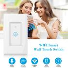 WiFi Smart Touch Switch Timing Function APP Remote Control Home Automation T9V0