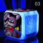Cartoon Alarm Clock Five Nights game colorful led clocks touch light