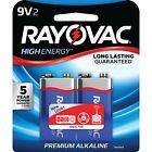 RAYOVAC(R) A1604-2J 9-Volt Alkaline Batteries, 2 pk
