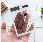 Transparent Scientific Calculator Cute Pocket Calculator Solar Calculators