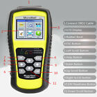 USB OBD2 OBDII Auto Engine Trouble Code Diagnostic Scanner Reader Scan Tool