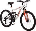 24' Mongoose Trail Blazer Boys Mountain Bike, White