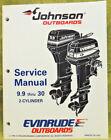 1995 Johnson Outboard Service Repair Manual 9.9 10 15 20 25 28 30 35 HP Evinrude