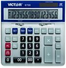 NEW Victor 6700 16 Digit Extra Large Desktop Calculator FREE2DAYSHIP TAXFREE