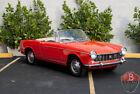 1500 Pininfarina Cabriolet 1967 Fiat 1500 Pininfarina Cabriolet 0 Red Convertible 1500 CC Manual 4-Speed