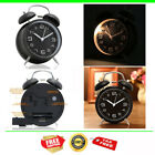 Vintage Extra Loud Alarm Clock Twin Bell Battery Analogy Backlight Bedroom New