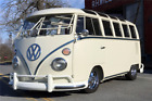 1966 Volkswagen Bus/Vanagon 21-Window Micro Bus 1966 VOLKSWAGEN 21-WINDOW CUSTOM MICROBUS, Rotisserie Restored!