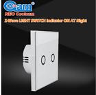 Z Wave Wireless Smart Remote Control Wall Light Switch 2 Gang