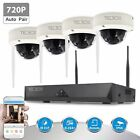 TECBOX 4CH 1080P Wireless NVR CCTV System WIFI IP Security Camera Outdoor/Indoor