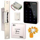 WiFi DIY Access Control Security System Kit RFID Card w NO Narrow-Type Strike