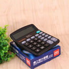 12 digits portable calculator solar dual-power office commercial desk -F