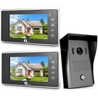 Home Security Systems 1byone Video Doorbell Kit, 7-inch Color Monitors Surface