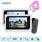 Home Security Systems JeaTone 10 Inch TFT Wired Video Door Phone Intercom Camera