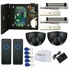 Home Security Systems TCPIP Doors Magnetic Lock(600LBS) Access Control Request