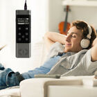 8GB Voice Sound Audio Recorder Dictaphone Spy Digital Touch Screen MP3 Player US