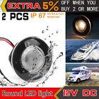 2x Marine Boat Yacht RV LED Courtesy Boat Lamp Stair Warm White Light Waterproof