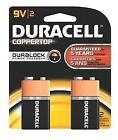 Duracell Alkaline Battery Coppertop 9V 2/Pk - 80252598