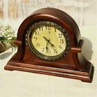 Wooden Retro Clock Household Vintage Large Home Office Anchor Seat Decoration