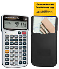 Construction Master Pro Calculator Advanced Math Feet-inch-Fraction for Builders