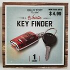 Buxton Whistle Key Finder Keychain Red