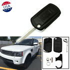 3 Buttons Remote Key Fob Case Blade For Land Rover Range Rover Sport Discovery
