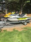 2017 Seadoo RXTX 300 and GTI SE155 with double trailer
