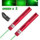 10Miles 532nm 303 Green Laser Pointer Lazer Pen Visible Beam Light+Charger Red